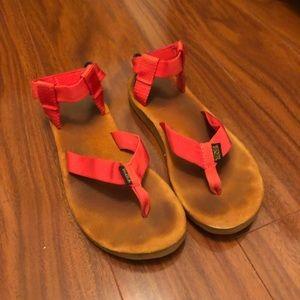 TEVA flip flop sandals